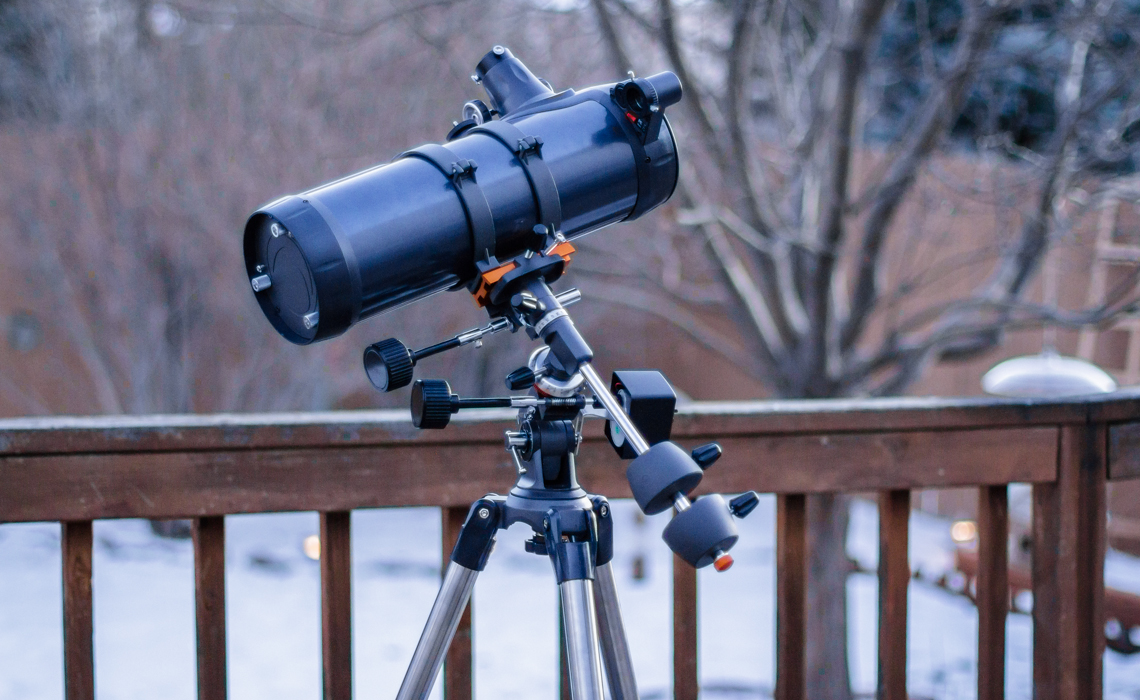 Telescope review: celestron astromaster 114 eq md nature photography