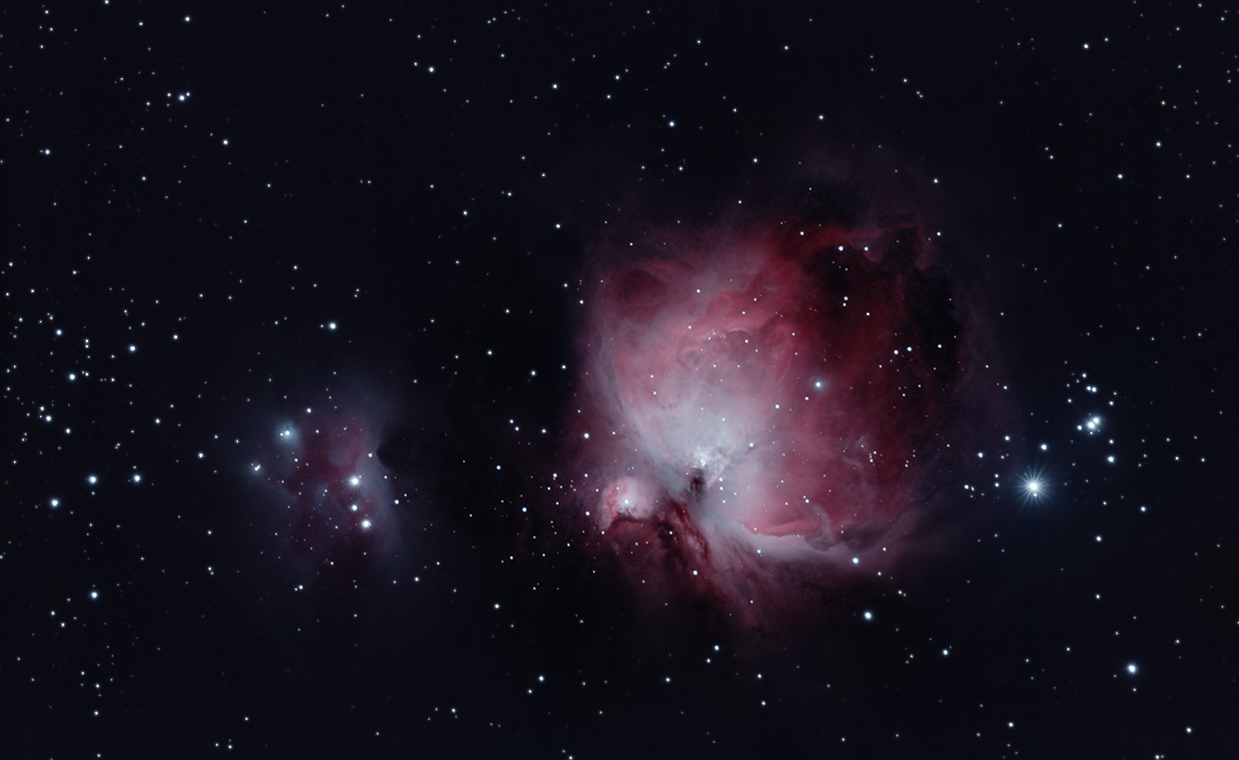 Orion Nebula and Running Man