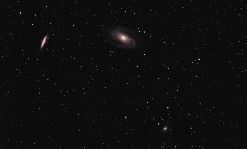 M81, M82 & NGC 3077 - Ursa Major