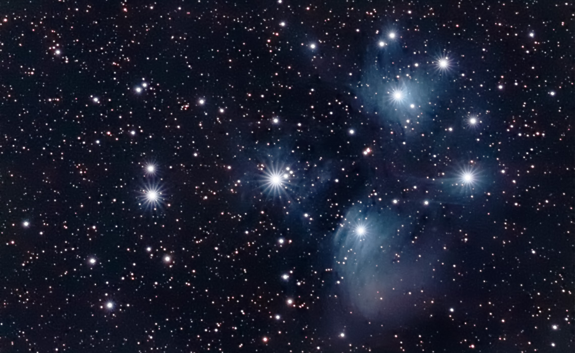 The Pleiades Reflection Nebulas
