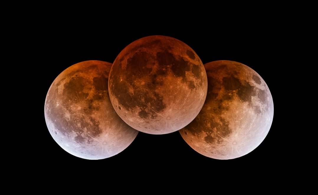 Total Lunar Eclipse April 2014 - Totality Triad Blog