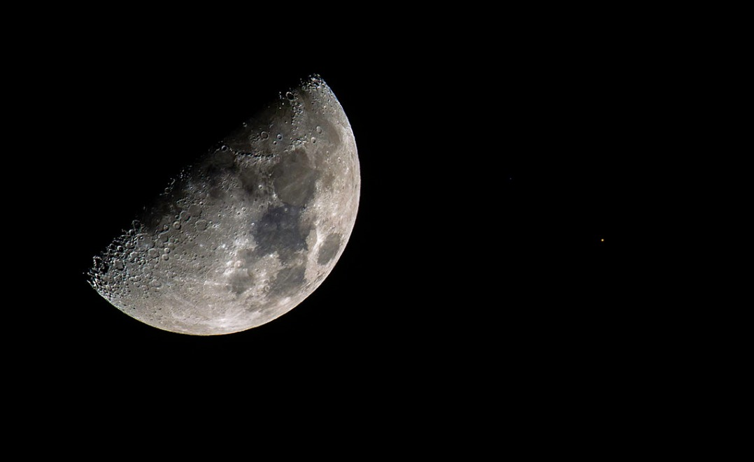 Moon-Mars Conjunction July 5, 2014