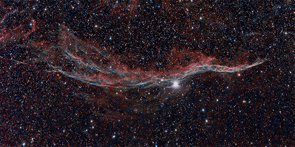 The Witches Broom (Western Veil Nebula)