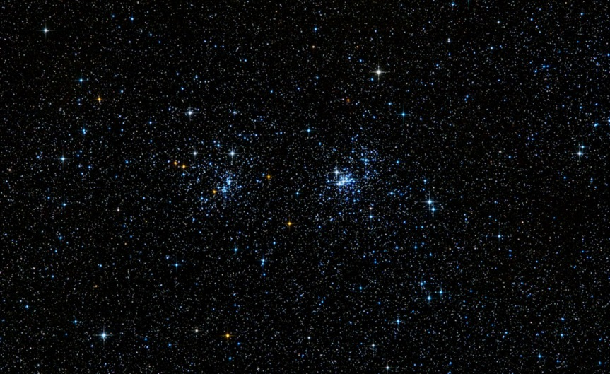 Double Cluster - Cropped Field