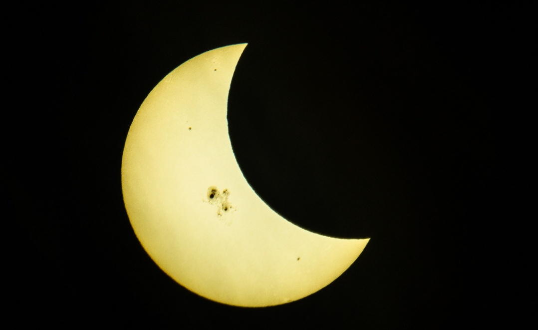 Partial Solar Eclipse-1