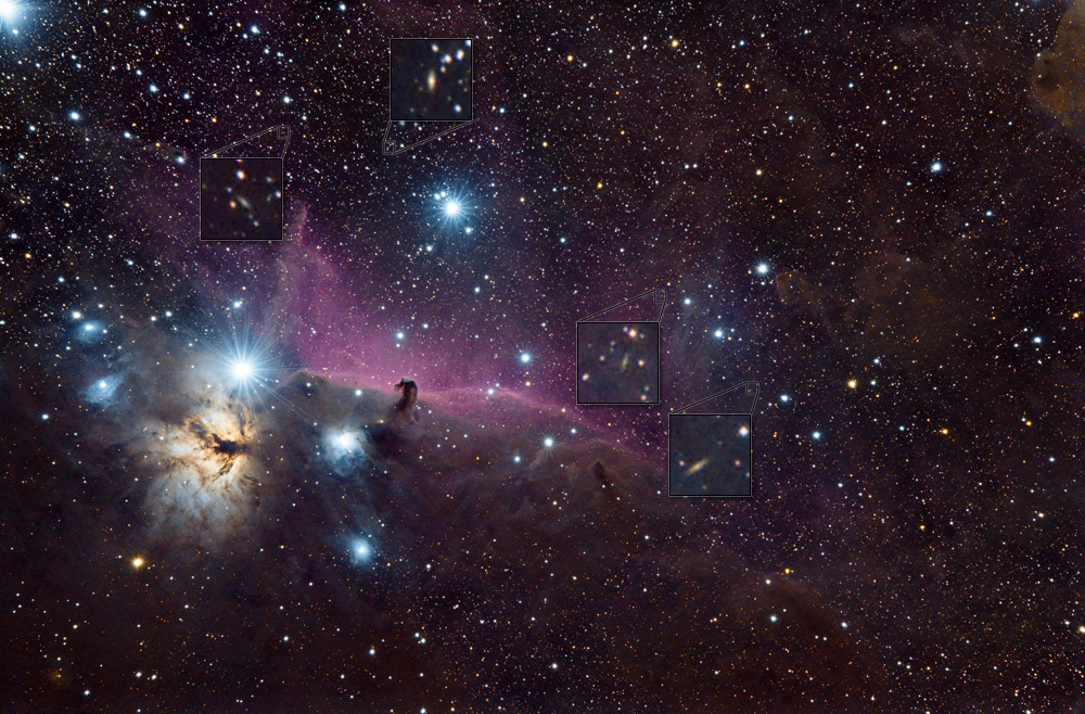Galaxies within the Dust