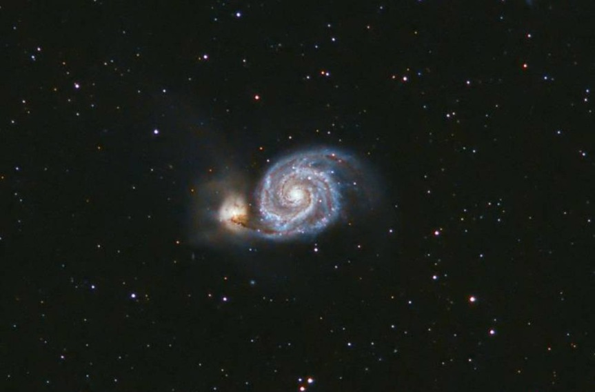 M51 Closeup