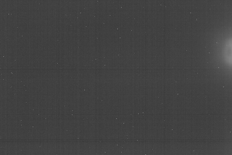 20-frame 30-minute Master Dark Frame (Uncalibrated)
